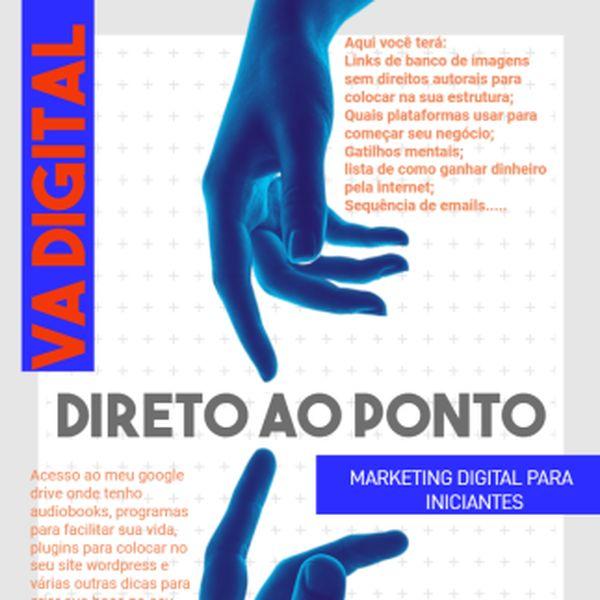 Imagem principal do produto Direto ao ponto- Marketing Digital para iniciantes