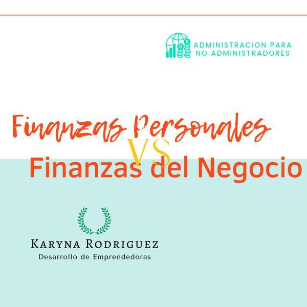 Imagem principal do produto Finanzas Personales vs Finanzas del Negocio
