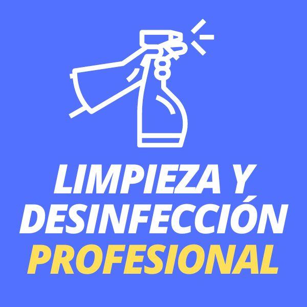 Imagem principal do produto Certificación Limpieza y Desinfección Profesional