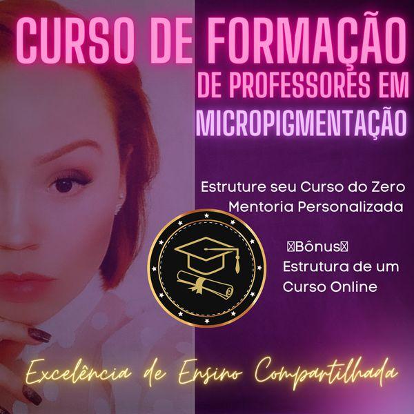 Imagem principal do produto Formação de Professores em Micropigmentação