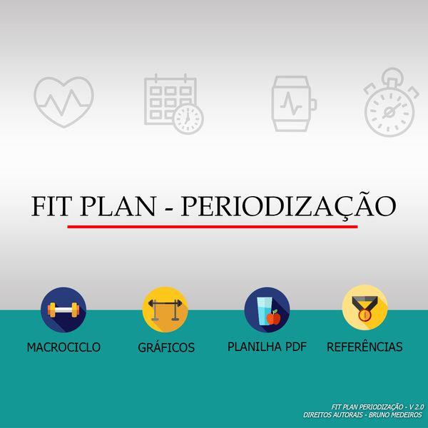 Imagem principal do produto FIT PLAN PERIODIZAÇÃO - Versão 4.0