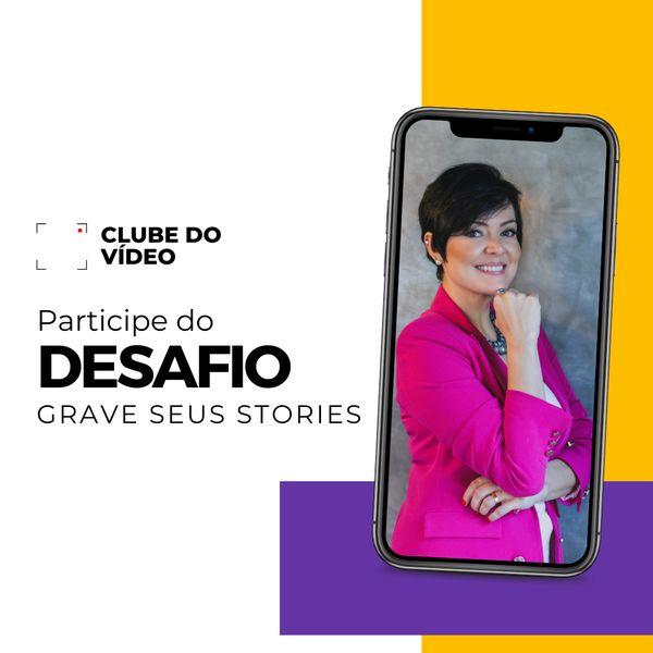 Imagem principal do produto Desafio Grave seus Stories