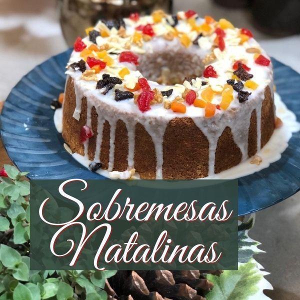 Imagem principal do produto E-book de Sobremesas Natalinas