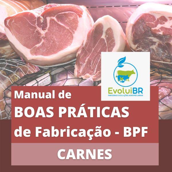 Imagem principal do produto Manual de BPF - Boas Práticas de Fabricação - CARNES E DERIVADOS