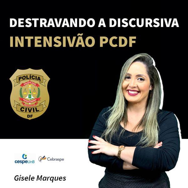 Imagem principal do produto Destravando a Discursiva - Intensivão PCDF