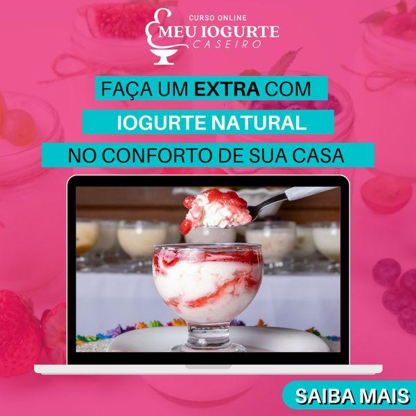 Imagem principal do produto Curso - Iogurte Caseiro