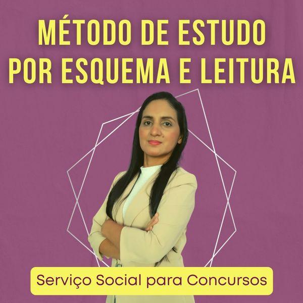 Imagem principal do produto ASSISTENTE SOCIAL- MÉTODO DE ESTUDO POR ESQUEMA E LEITURA- MEEL