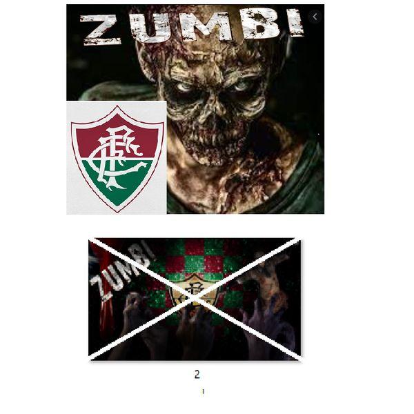 Imagem principal do produto Fluminense zumbi foto para estampar camisetas 2