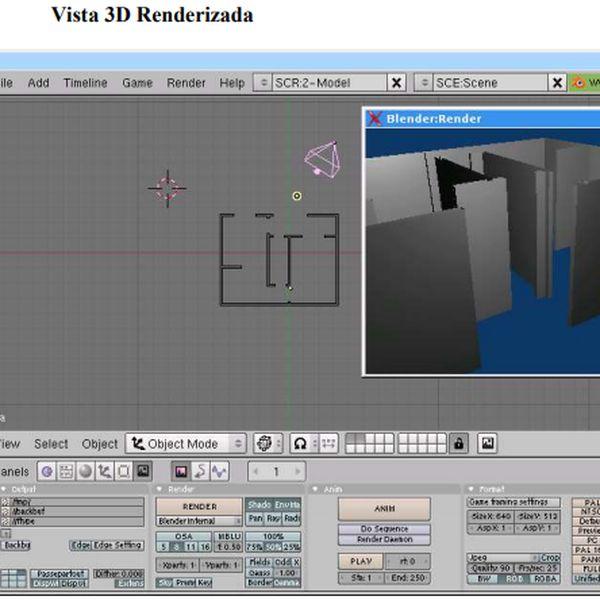Imagem principal do produto Curso Arquitetura Básica com Blender