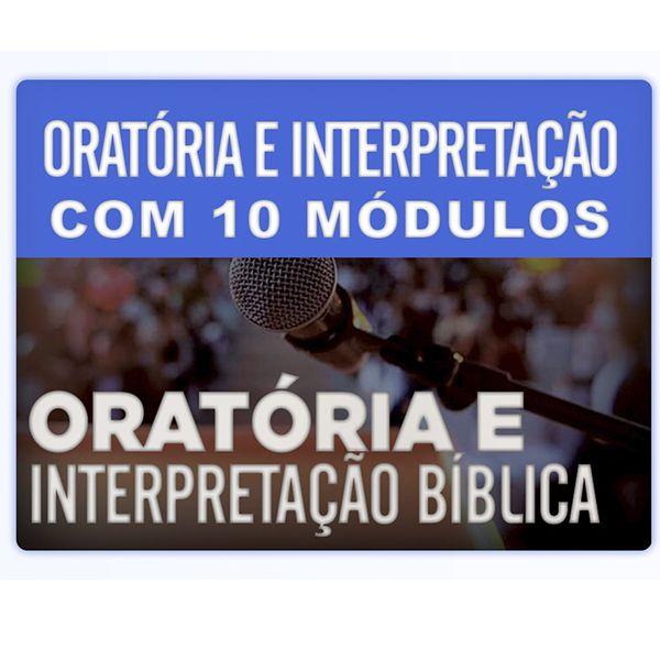 Imagem principal do produto Oratória e interpretação Bíblica