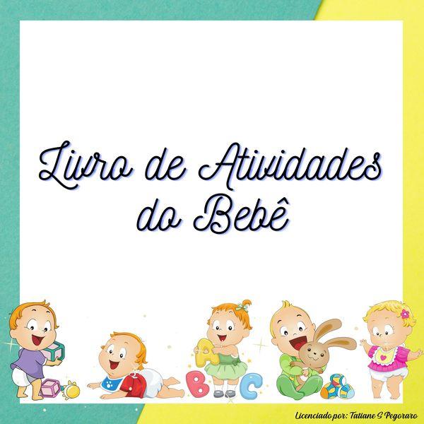 Imagem principal do produto Livro de Atividades do Bebê