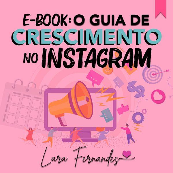 Imagem principal do produto O GUIA DE CRESCIMENTO NO INSTAGRAM