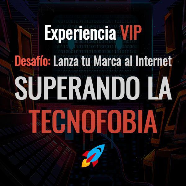Imagem principal do produto Desafío - SUPERANDO LA TECNOFOBIA - Experiencia VIP