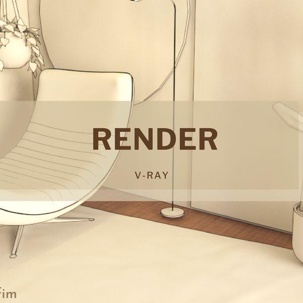 Imagem principal do produto Curso completo de renderização com dicas