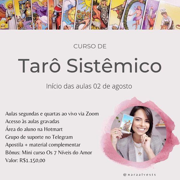Imagem principal do produto Curso de Tarô Sistêmico 2