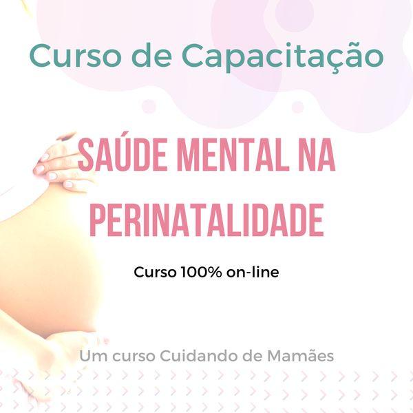 Imagem principal do produto Capacitação em saúde mental na perinatalidade