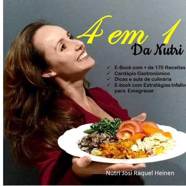 Imagem principal do produto Ebook +170 Receitas + Cardápio Gastrônomico + Dicas e aula Culinária + Estratégias Infalíveis de Emagrecimento
