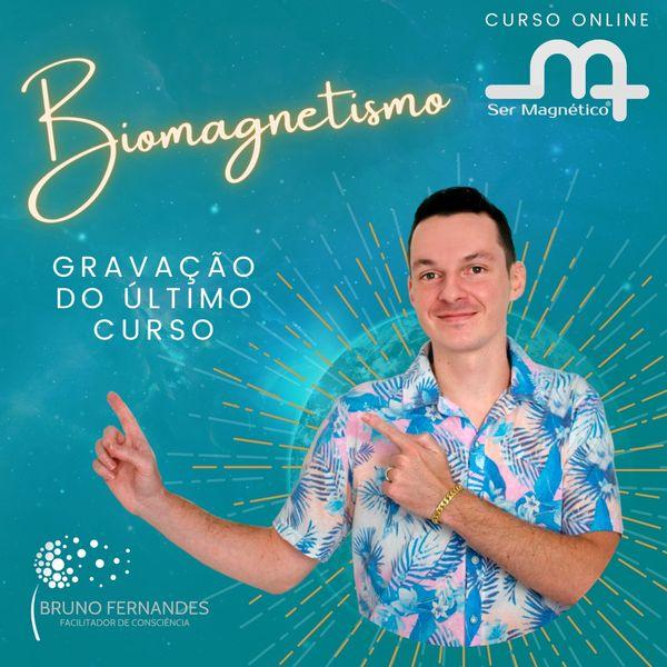 Imagem principal do produto Curso Terapeuta Biomagnetismo e bionergia Ser Magnético® - com Bruno Fernandes