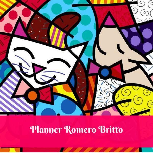 Planner Romero Britto Maximize Se Evolucao Pedagogica Learn