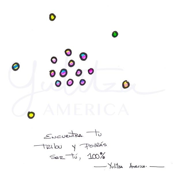 Imagem principal do produto Encuentra tu Tribu - Dibujos para el Alma PDF