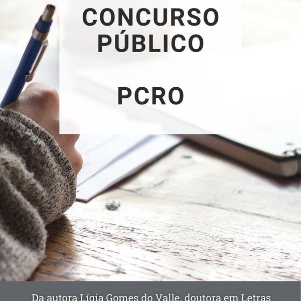 Imagem principal do produto Concurso Público - Polícia Civil Rondônia