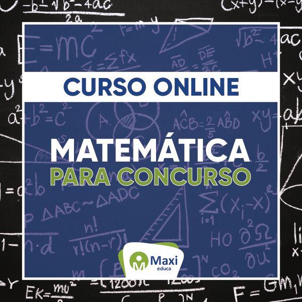 Imagem principal do produto Curso Extensivo - Matemática para Concurso Público