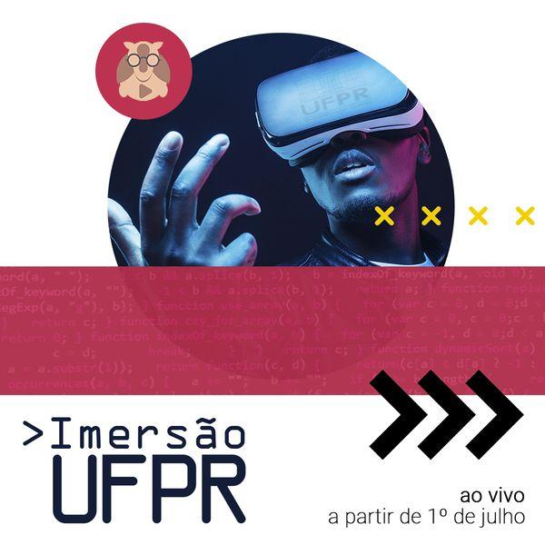 Imagem principal do produto Imersão UFPR 2021