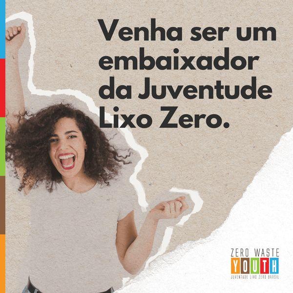 Imagem principal do produto Formação de Embaixadores - Juventude Lixo Zero
