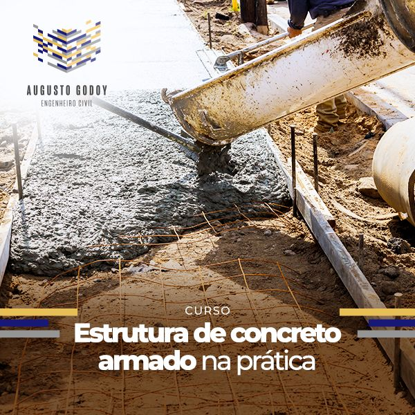 Imagem principal do produto Curso de Estrutura de Concreto Armado na Prática
