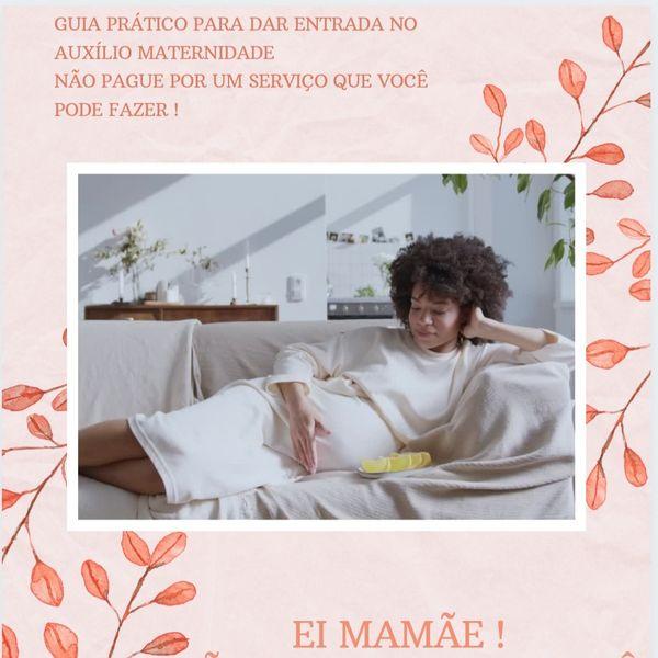 Imagem principal do produto Guia prático para pedir seu Auxílio Maternidade