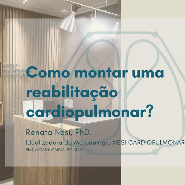 Imagem principal do produto Curso gravado de Gestão: Como montar uma reabilitação Cardiopulmonar?