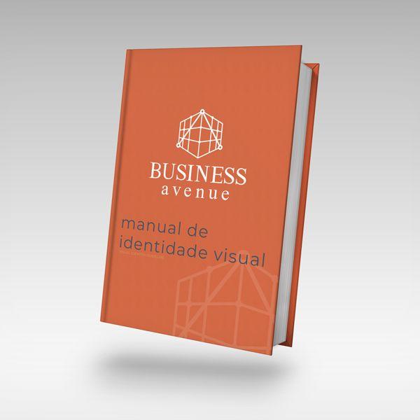 Imagem principal do produto Manual de Identidade Visual Business Avenue
