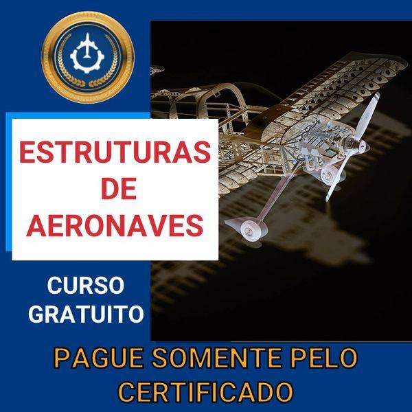 Imagem principal do produto Curso Gratuito de Estruturas de Aeronaves
