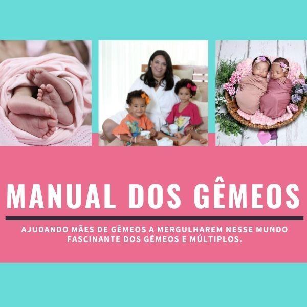 Imagem principal do produto MANUAL DOS GÊMEOS