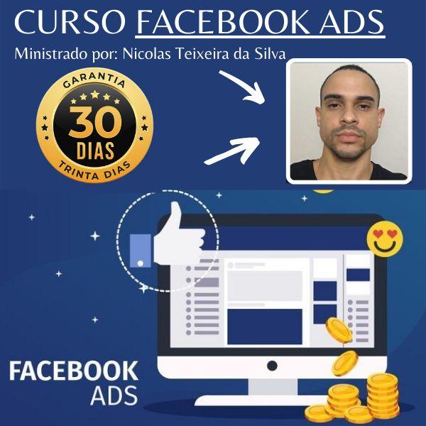 Imagem principal do produto Aprenda do ZERO a usar Facebook Ads