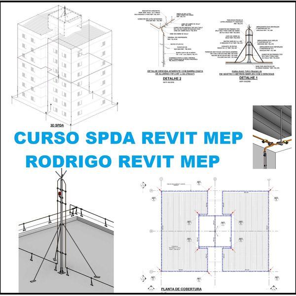 Imagem principal do produto Curso Projeto de SPDA no Revit MEP com Template