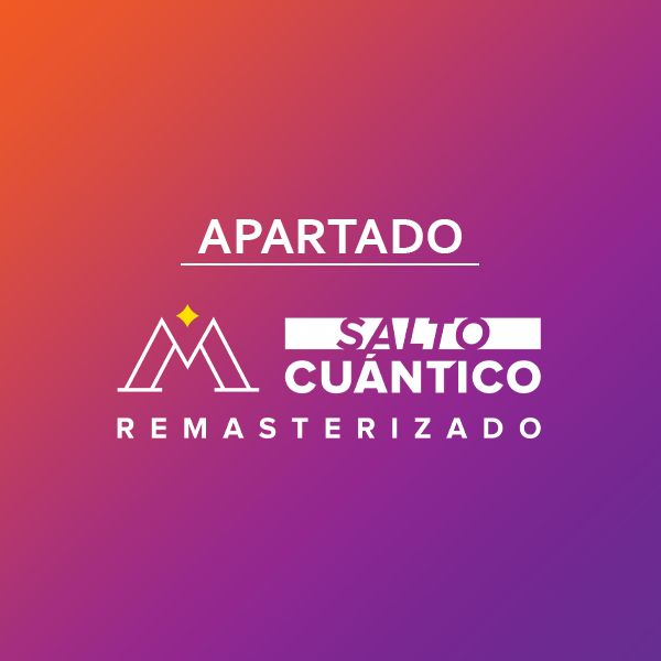 Imagem principal do produto APARTADO SALTO CUANTICO REMASTERIZADO