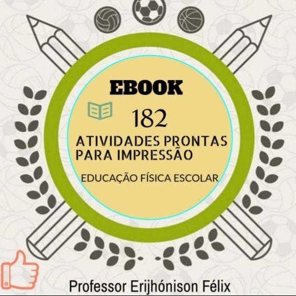Imagem principal do produto Atividades Impressas de Educação Física