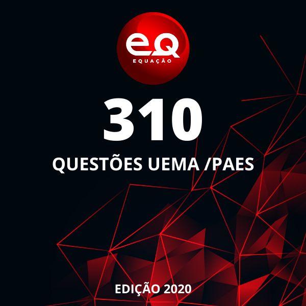Imagem principal do produto 310 QUESTÕES UEMA /PAES