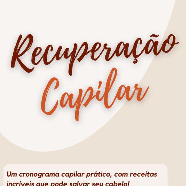 Imagem principal do produto Recuperação Capilar