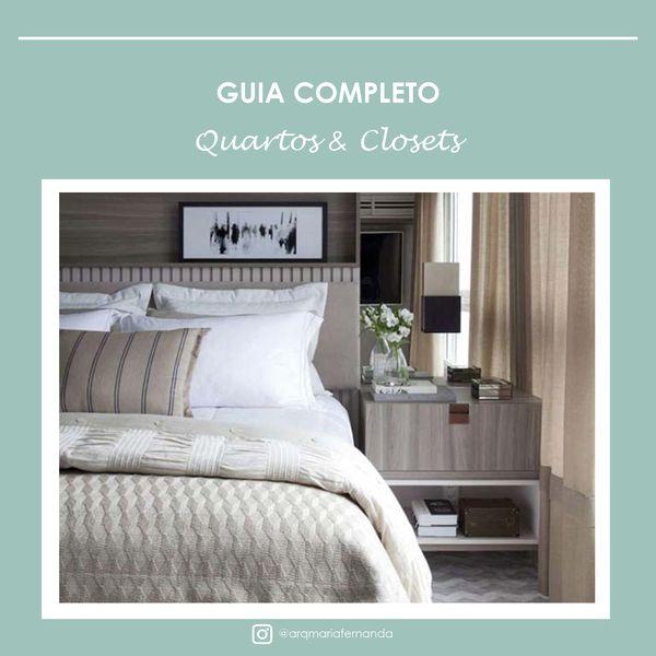 Imagem principal do produto GUIA COMPLETO: QUARTOS & CLOSETS