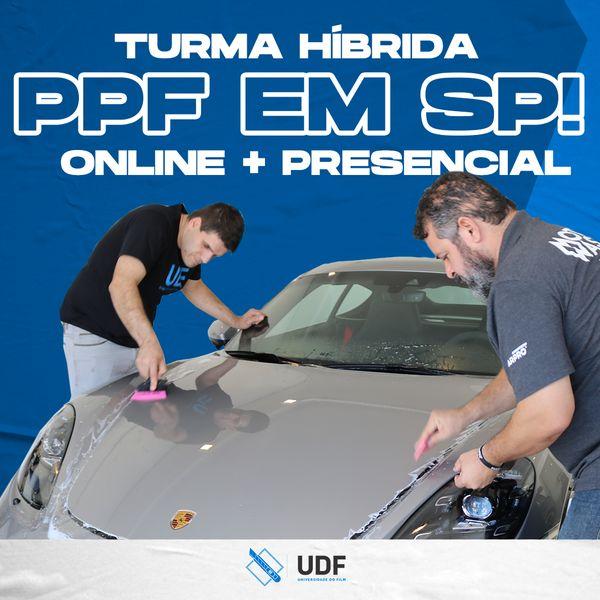 Imagem principal do produto Curso Híbrido de PPF (online+presencial)