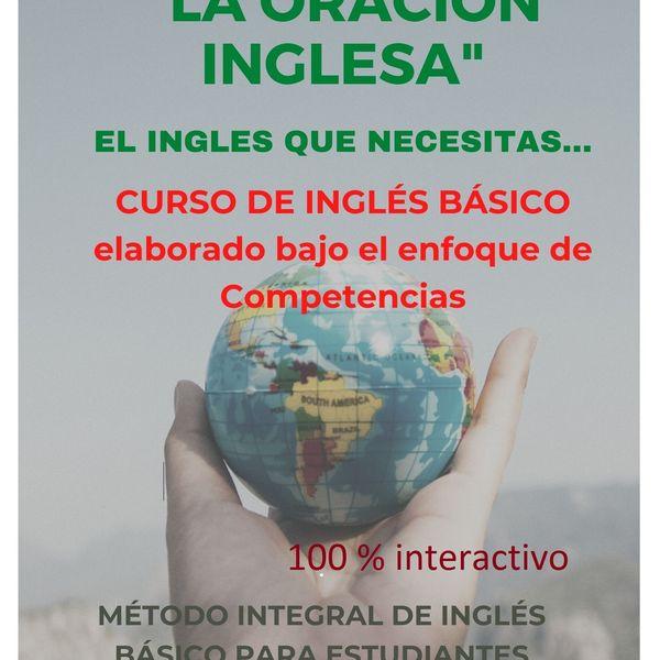 Imagem principal do produto INGLÉS BÁSICO: LA ORACIÓN INGLESA
