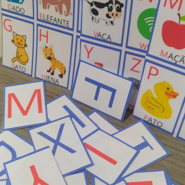 Imagem principal do produto Jogo do Alfabeto