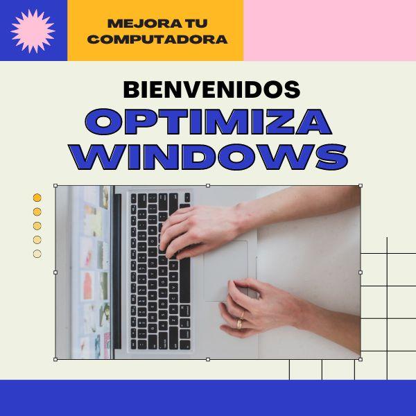 Imagem principal do produto Como optimizar el windows