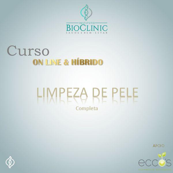 Imagem principal do produto Limpeza de pele - Fototerapia e Clareamento de Manchas - ON LINE & HÍBRIDO