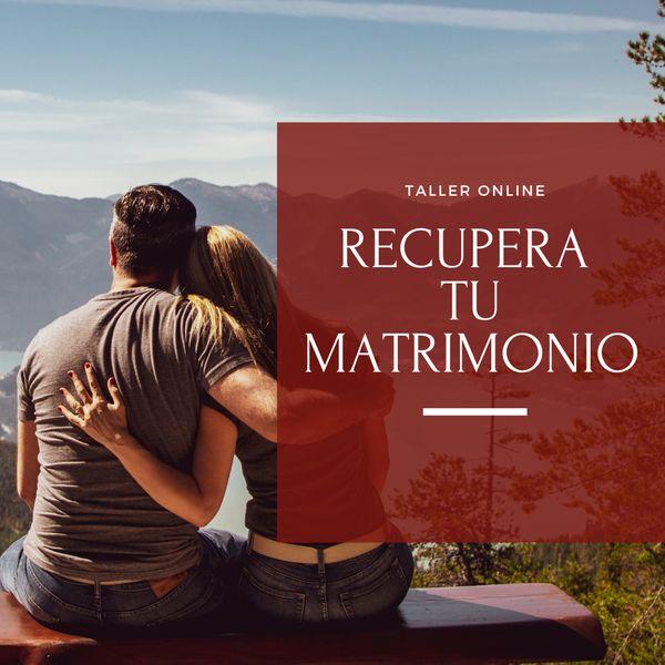 Imagem principal do produto Recupera tu Matrimonio
