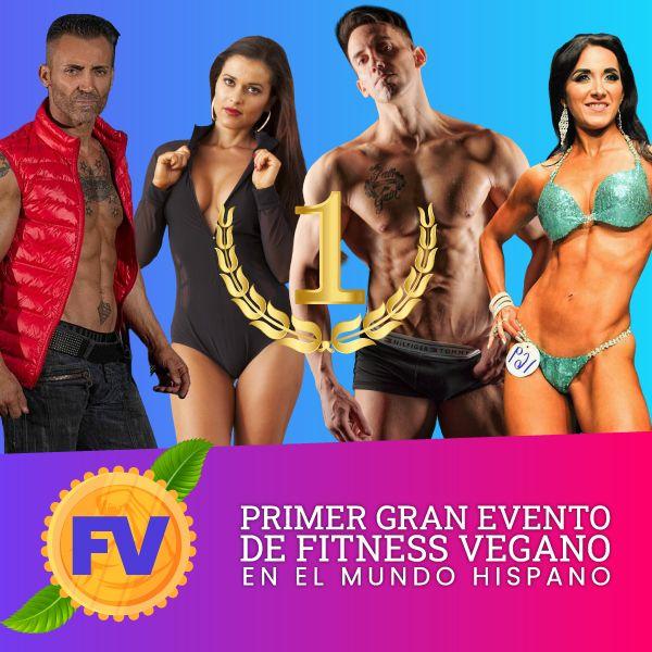 Imagem principal do produto 1er Gran Evento de Fitness Vegano - Ponte Fuerte por los Animales