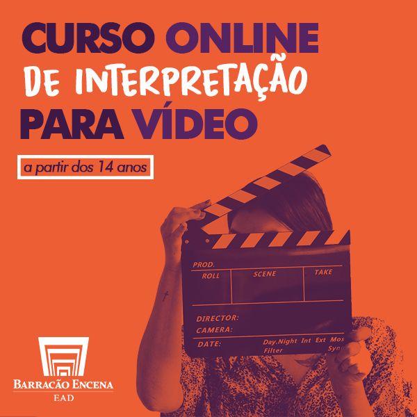 Imagem principal do produto Curso de Interpretação para Vídeo  (a partir dos 14 anos) - Quinta Noite