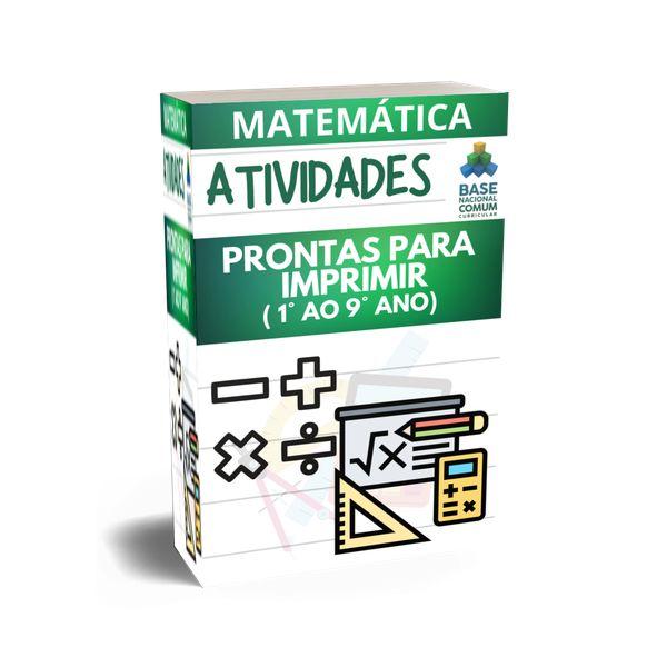 Imagem principal do produto ATIVIDADES DE MATEMATICA
